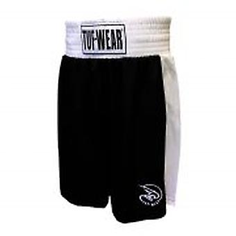 Tuf Wear Kids Junior Club Boxning Shorts Svart