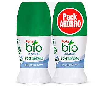 Byly Bio Natural 0% Control Deo Roll-on Set 2 Pz Unisex