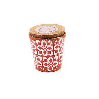 Eura Candle Eura ceramics 10x10cm Cinnamon