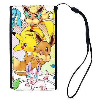 Pokemon Pikachu & Eevee Universell Plånboksväska