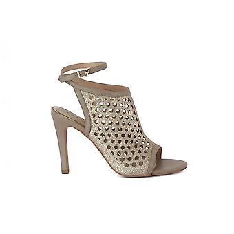 CafeNoir Sabot Laserato MA807PLAT universal summer women shoes