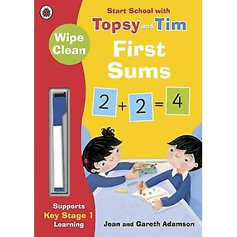 WipeClean First Sums Start School with by Jean Adamson