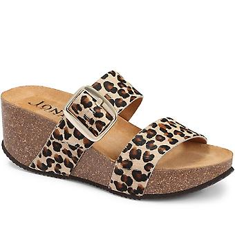 Jones Bootmaker Selena Mule Wedge Sandal