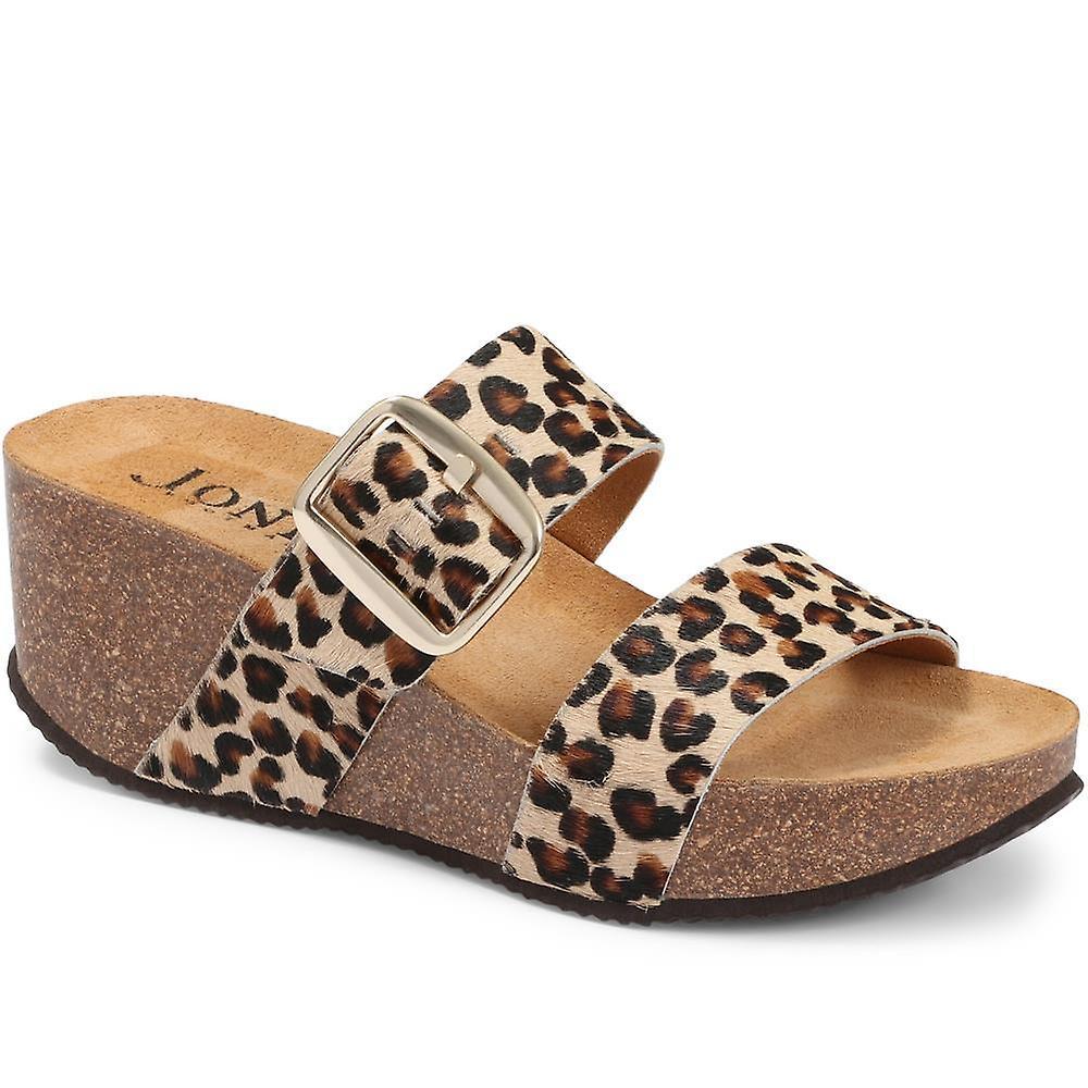 Jones Bootmaker Selena Mule Wedge Sandal S8gic