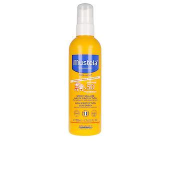 Mustela Bébé Sol Lait Solaire Ip50+ Spray 200 Ml Unisex