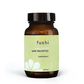 Fushi Wellbeing Wild Crafted Saw Palmetto Berry 333mg Veg Caps 60 (F0020785)