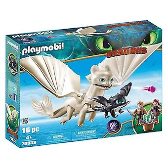 Playset Dragons Set Light Fury Playmobil 70038 (16 pcs)