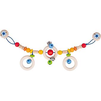 Cochecito de Heimess cadena arco iris con Clips