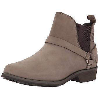 Teva Womens De La Vina Dos Leather Almond Toe Ankle Chelsea Boots