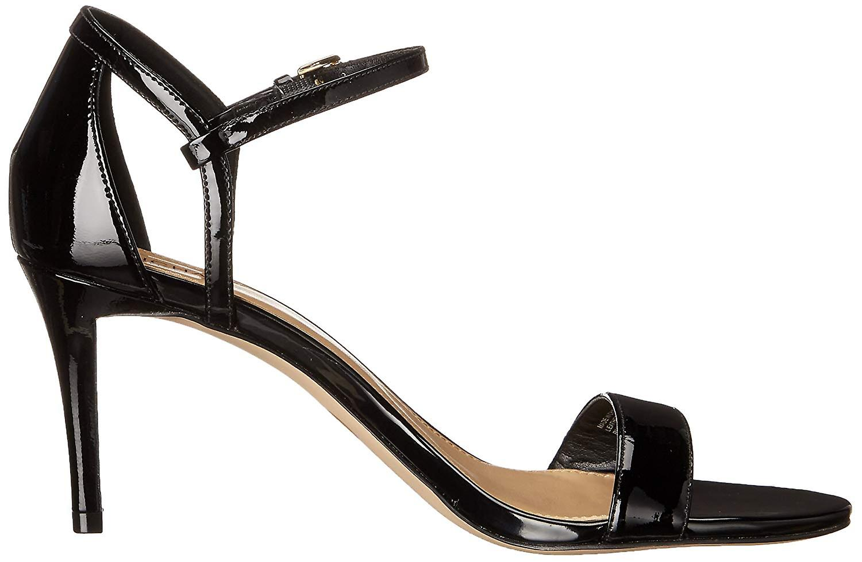 Michael Michael Kors Womens Simone mid sandal Leather Open Toe Formal Ankle S... 6yABK