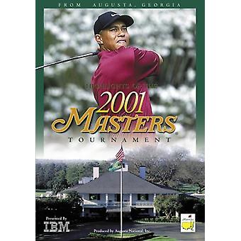 Highlights of the 2001 Masters [DVD] USA import