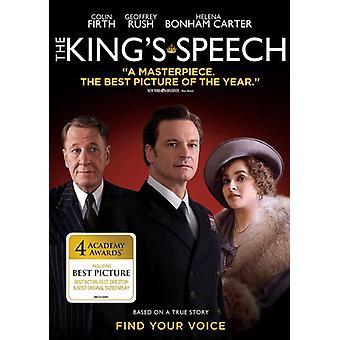 King's Speech [DVD] USA import
