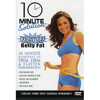 10 Minute Solution-Blast Off Belly Fat [DVD] USA import