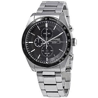 Seiko Solar Watch SSC715P1 - الفولاذ المقاوم للصدأ جنتس التوقيت الشمسي