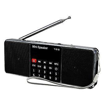 Digital Mini Speaker with USB and FM Radio