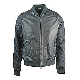 Emporio Armani 3Z1BM6 1LBAZ 0999  Leather Jacket