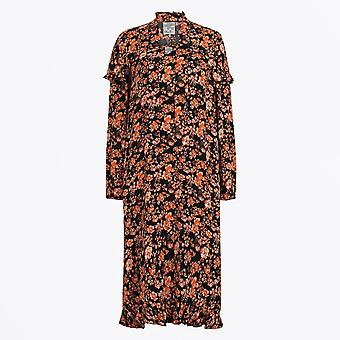Baum Und Pferdgarten  - Ani Floral Print Dress - Black