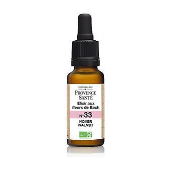 ORGANIC Walnut 20 ml of floral elixir