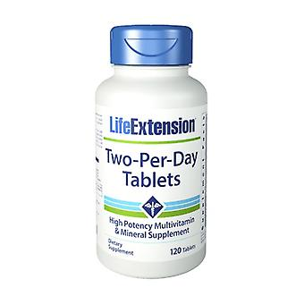 Two-Per-Day Tablets 120 tabletes