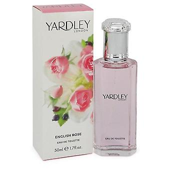 English rose yardley eau de toilette spray by yardley london 483369 50 ml