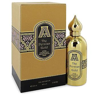 The persian gold eau de parfum spray (unisex) by attar collection 551347 100 ml