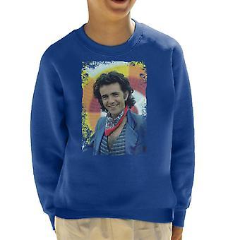 TV keer David Essex zanger en acteur 1981 Kid's Sweatshirt