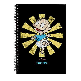 Tommy Retro Japansk Rugrats Spiral Notebook