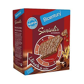 Sarialis Milk Chocolate Cereal Bar 6 yksikköä