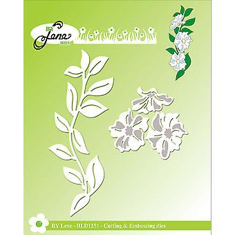 By Lene Flower Vine Cutting & Embossing Dies
