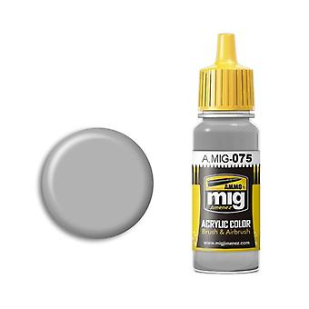 Ammo by Mig Acrylic Paint - A.MIG-0075 Stone Grey (17ml)