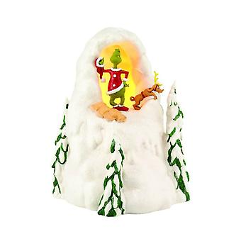 Dr. Seuss The Grinch Mt. Crumpit Light Up Figurine