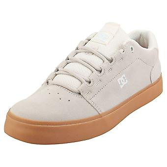 DC Shoes Hyde S Mens Skate Trainers in White Gum