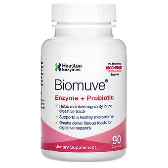 Houston Enzymes, Biomuve, Enzyme + Probiotique, 90 Capsules
