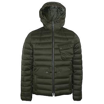 Barbour international men's olive ouston jacket