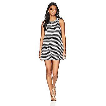 Roxy Junior ' s glanzende Tee coverup jurk, helder wit als Stripe, XS