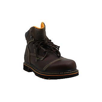 "Ad Tec Men's Shoes 6"" Tumbled Leather Closed Toe Ankle Fashion Boots"