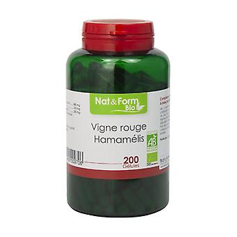Red Vine & Organic Hamamelis 200 vegetable capsules