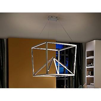 Integrated LED Crystal Modern Ceiling Pendant Steel