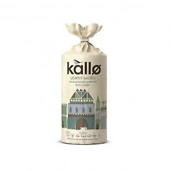 KALLO FOODS - Organic Thick Rice Cakes Lightly Salted