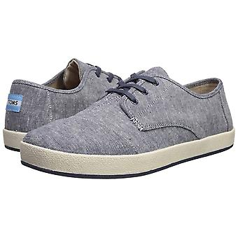 Toms Mens Paseo Fabric Low Top Lace Up Fashion Sneakers