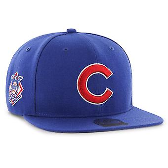 47 Brand Snapback Cap - SURE SHOT Chicago Cubs royal