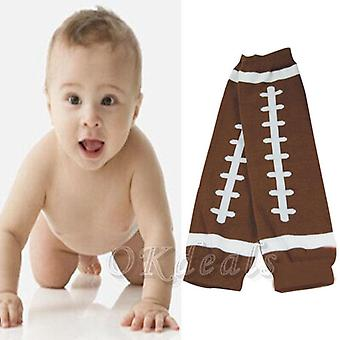 Winter American Football Baby Kids Child Arm Leg Warmers Cotton Toddler Boys Girls Legging