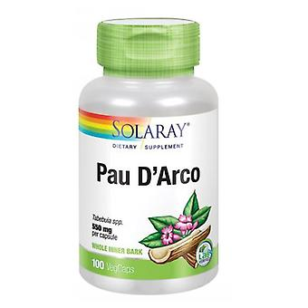 Solaray Pau D'Arco, 510 mg, 100 Korkkia