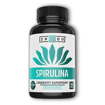 Zhou Nutrition Spirulina, 180 Tabs
