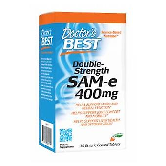 Doctors Best Double Strength SAM-e, 400 mg, 30 Tabs