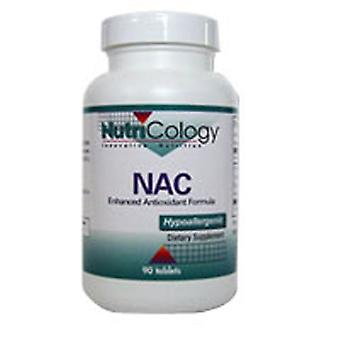 Nutricology/ Allergie Research Group NAC Enhanced Antioxidant Formula, 90 Tabs