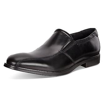 ECCO 621654 Melbourne Men's Slip On Leather Shoes In Black