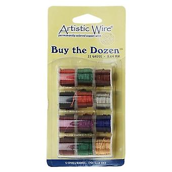Beadalon Artistic Wire - Buy-The-Dozen 12 Pack