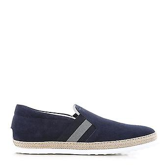 Slip-on Tod's In Blue Suede