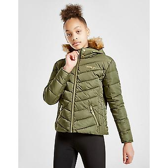 New McKenzie Girls' Sophia Padded Jacket Junior Green